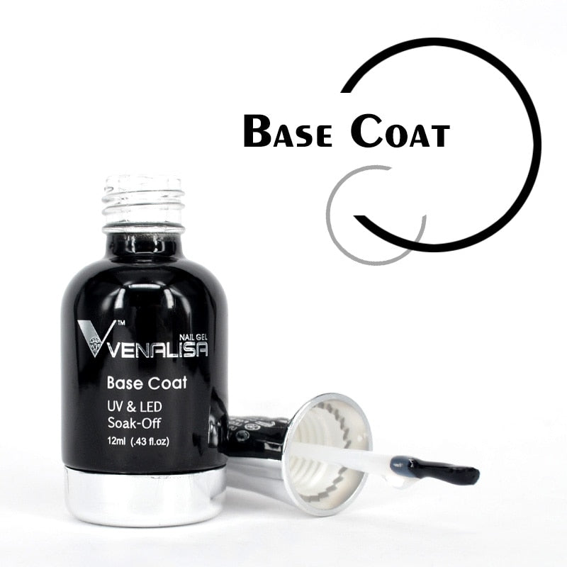 Venalisa™ 12 ml No Sticky Soak off Base Coat