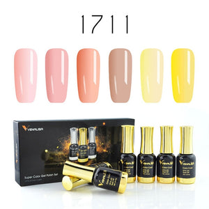 Venalisa™ 12ml  6pcs Nail Gel Polish Kit
