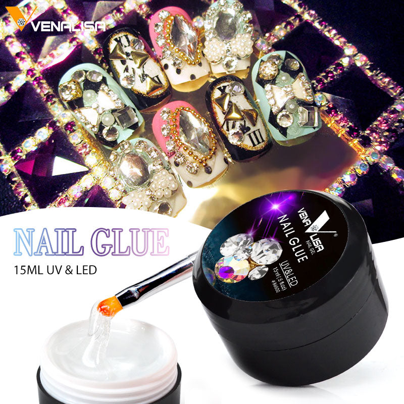 Venalisa™ Nail Glue for LED Rhinestone Diamond Decoration