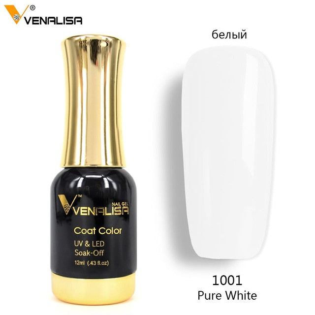 Venalisa™ 12ml Soak off UV LED Organic Nail Gel Polish {Color: 1056-1120}