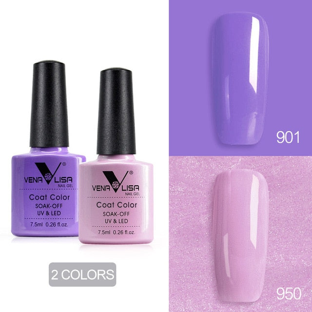 Venalisa™ 7.5ml Nail Gel Polish Twin Colors (901-920)