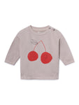 Cherry Round Neck Sweatshirt