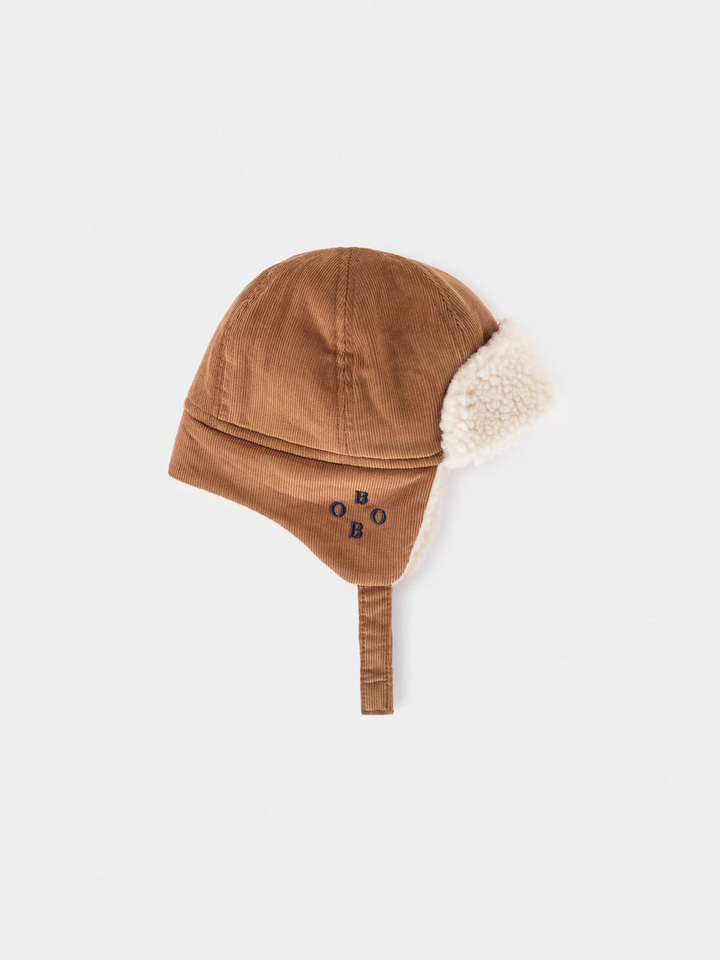 Khaki Sheepskin Baby Hat