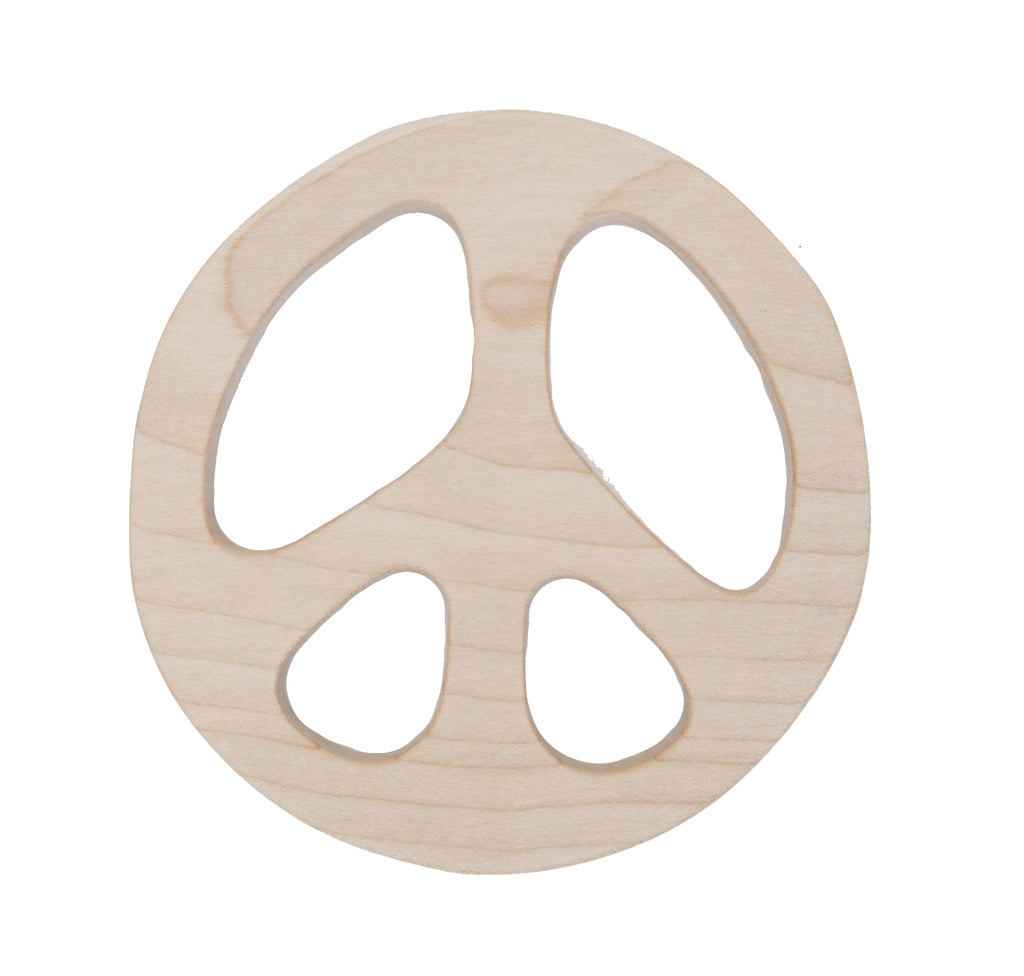 Wooden Teether - Peace