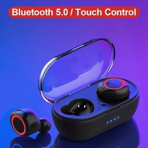 WK V5.0 TWS Bluetooth Earphones 3D Stereo Wireless Headsets Earbuds with Charging Box Fone De Ouvido Bluetooth Dual Microphone - Products & Products Store