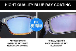 Blue Ray Computer Glasses Men Screen Radiation Eyewear Brand Design Office Gaming Blue Light Goggle UV Blocking Eye Spectacles - Products & Products Store