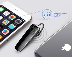 New Bee Bluetooth Earpiece Wireless hands-free Headset Mini Earphone Headset Headphone With CVC6.0 Mic For iPhone xiaomi Android - Products & Products Store