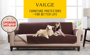 Recliner Cover Pet Dog Kids Mat Furniture Protector Sofa Covers For Living Room Armrest Slipcovers 1/2/3 Seat Sofa Cover Elastic - Products & Products Store