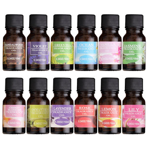 Essential Oils For humidifier, fragrance Lamp aroma diffuser Lavender Lemon Sandalwood Cherry Blossoms - Products & Products Store