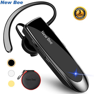 New Bee Bluetooth Headset Bluetooth Earphone Hands-free Headphone Mini Wireless Headsets Earbud Earpiece For iPhone xiaomi - Products & Products Store