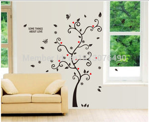 100*120Cm/40*48in 3D DIY Removable Photo Tree Pvc Wall Decals/Adhesive Wall Stickers Mural Art Home Decor - Products & Products Store