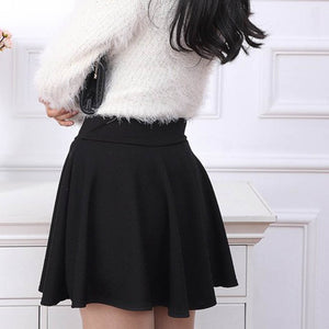 2015 Hot Women Bust Shorts Skirt Pants Pleated Plus Size Fashion Candy Color Skirts 9 Colors C718 - Products & Products Store