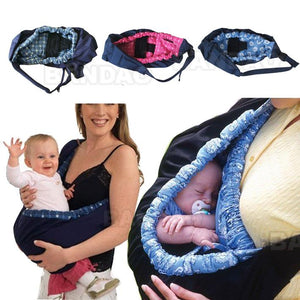 Infant newborn Baby carrier Sling wrap Cute Stylish swaddling strap sleeping bag inclined cross feeding Front Carry bag 3 colors - Products & Products Store