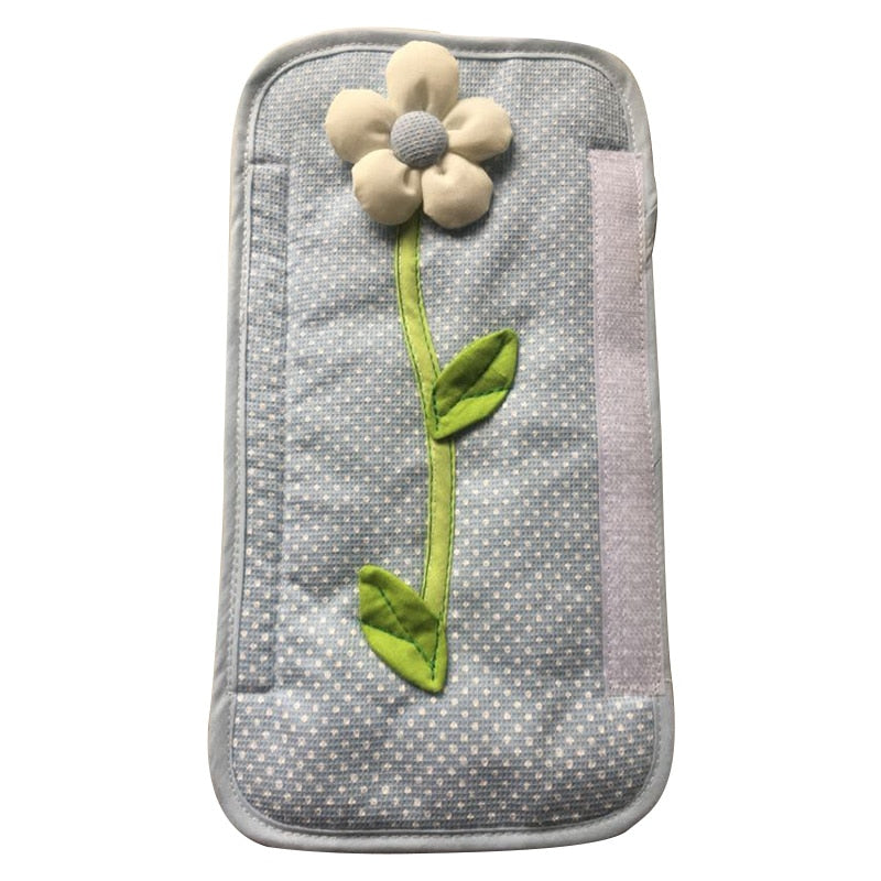 2PCS Pastoral Flower Polka Dot Door Refrigerator Handle Cover Fridge Door Handle Gloves Home Decor Kitchen Accessories - Products & Products Store