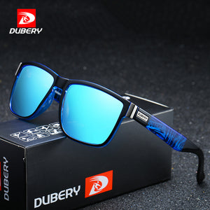 DUBERY Brand Design Polarized Sunglasses Men Driver Shades Male Vintage Sun Glasses For Men Spuare Mirror Summer UV400 Oculos - Products & Products Store