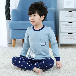 Autumn Boys Night Suit Pyjamas Kids Baby Sleepwear Long Sleeve Christmas Pajamas Set Baby Girl Clothes Children Pijamas Infantil - Products & Products Store
