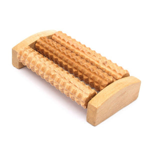 Foot Massage Traditional Wooden Roller Massager Without The Need Electricity Stress Relief Relaxation Health Care Therapy - Products & Products Store