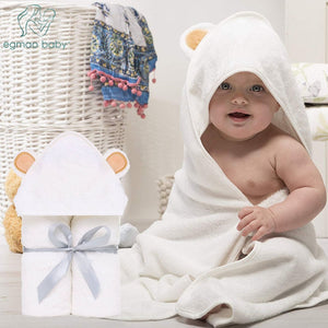Premium Baby Towel Baby Washcloth Set Organic Bamboo Baby Bath Towel  Extra Soft And Thick Newborn Hooded Towel Baby Washcloth - Products & Products Store