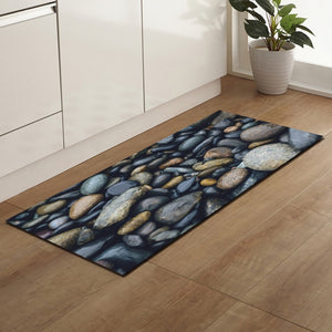 Zeegle Kitchen Floor Mat Non-slip Carpets Table Floor Mats Absorbent Kitchen Rugs Soft Rug 3D Printed - Products & Products Store