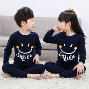 Autumn Winter Children Pajamas Long Sleeve Cartoon Kids Sleepwear Baby Girl Clothes Suit Cotton Child Pyjamas Boy Nightwear Home - Products & Products Store