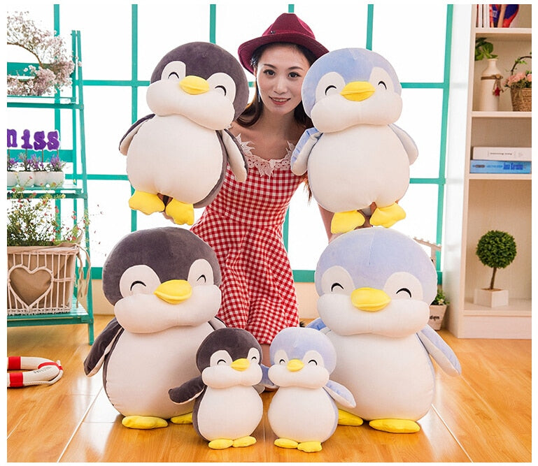 Soft fat Penguin Plush Toys Staffed Cartoon Animal Doll Fashion Toy for Kids Baby Lovely Girls Christmas Birthday Gift - Products & Products Store