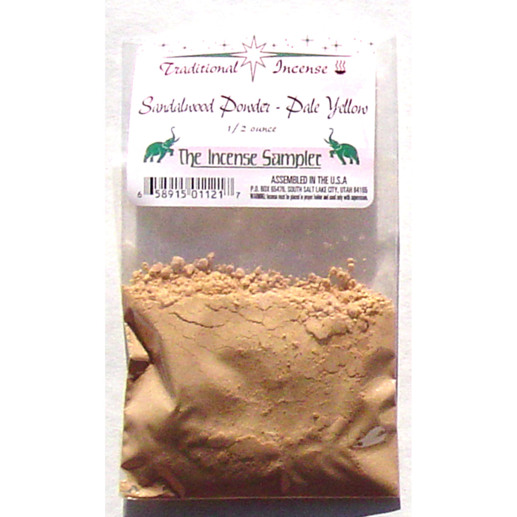 Sandalwood Powder - Pale Yellow