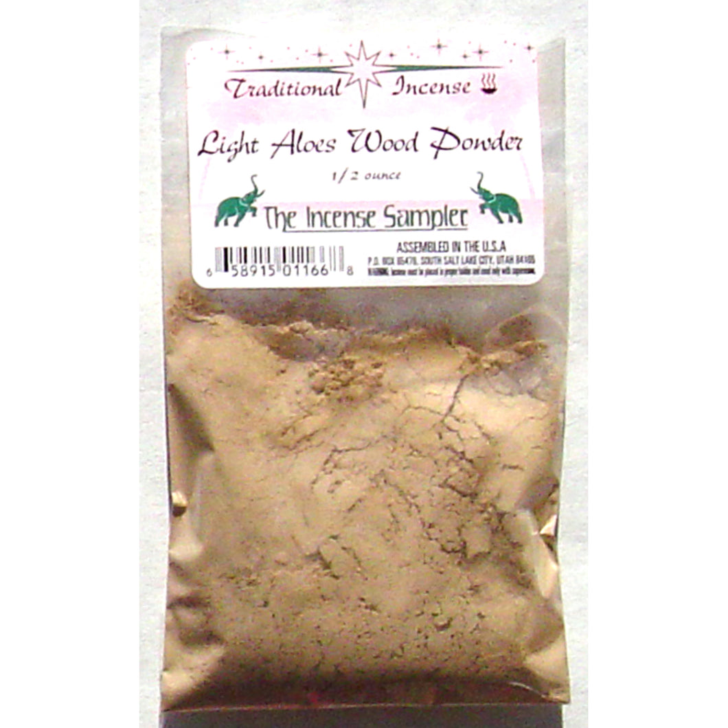 Light Aloes Wood Powder