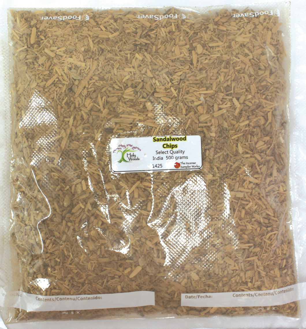 Sandalwood Chips - 500 gram