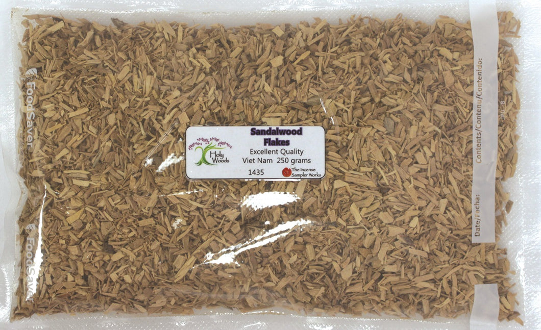Sandalwood Flakes - 250 gram