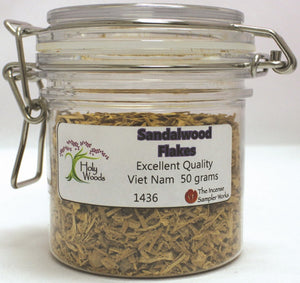 Sandalwood Flakes - 50 gram