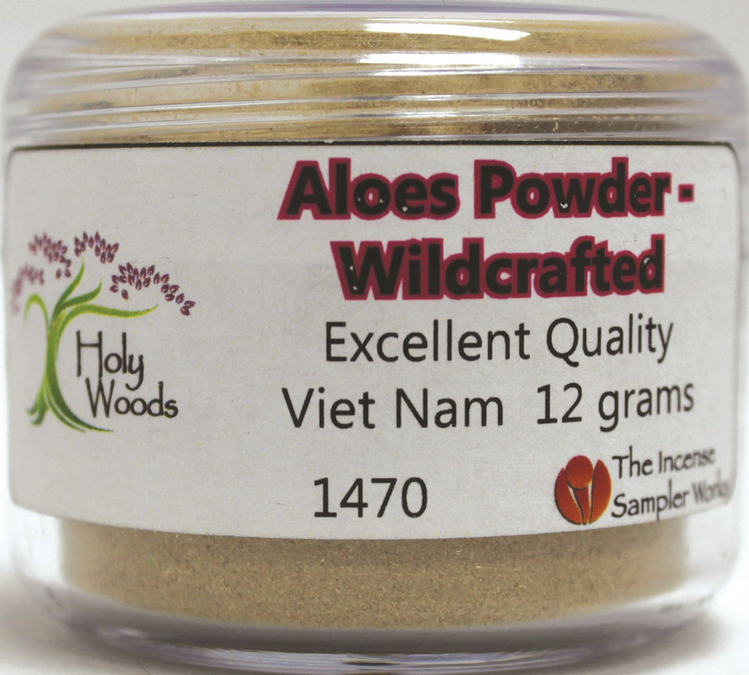 Aloeswood Powder - Wildcrafted - 12 gram