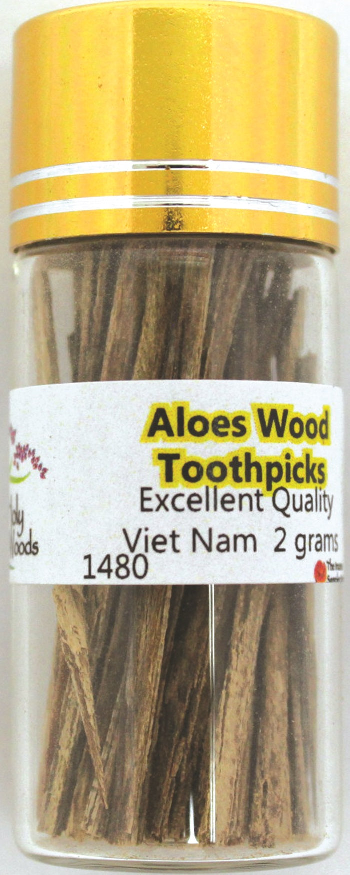 Aloeswood (Thin Sticks) Tooth Picks