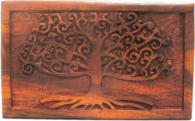 Rosewood Tree of Life Box
