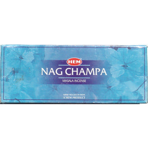 Nag Champa by Hem (blue box) - SQ