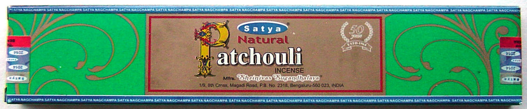 Natural Patchouli - 15 gram