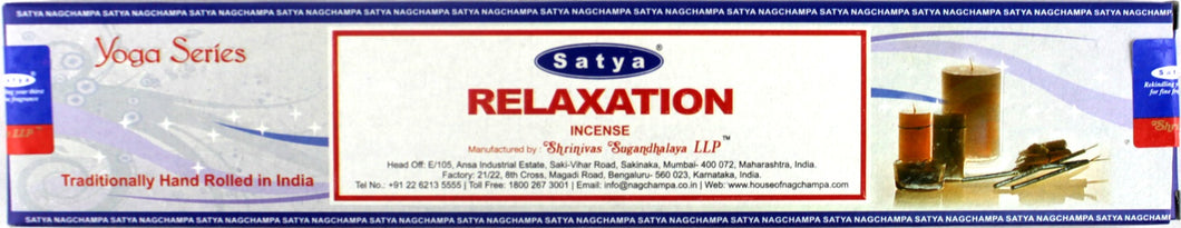 Satya Yoga - Relaxation