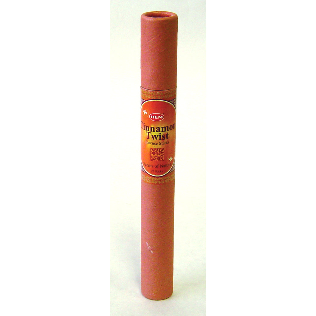 Scents of Nature Cinnamon Twist in 20-stick tubes