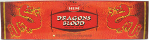 "Hem Dragon's Blood 16""  Hex Tube"