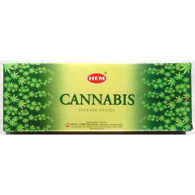 Cannabis* - 20 stick hex tubes