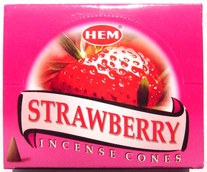 Strawberry Cones