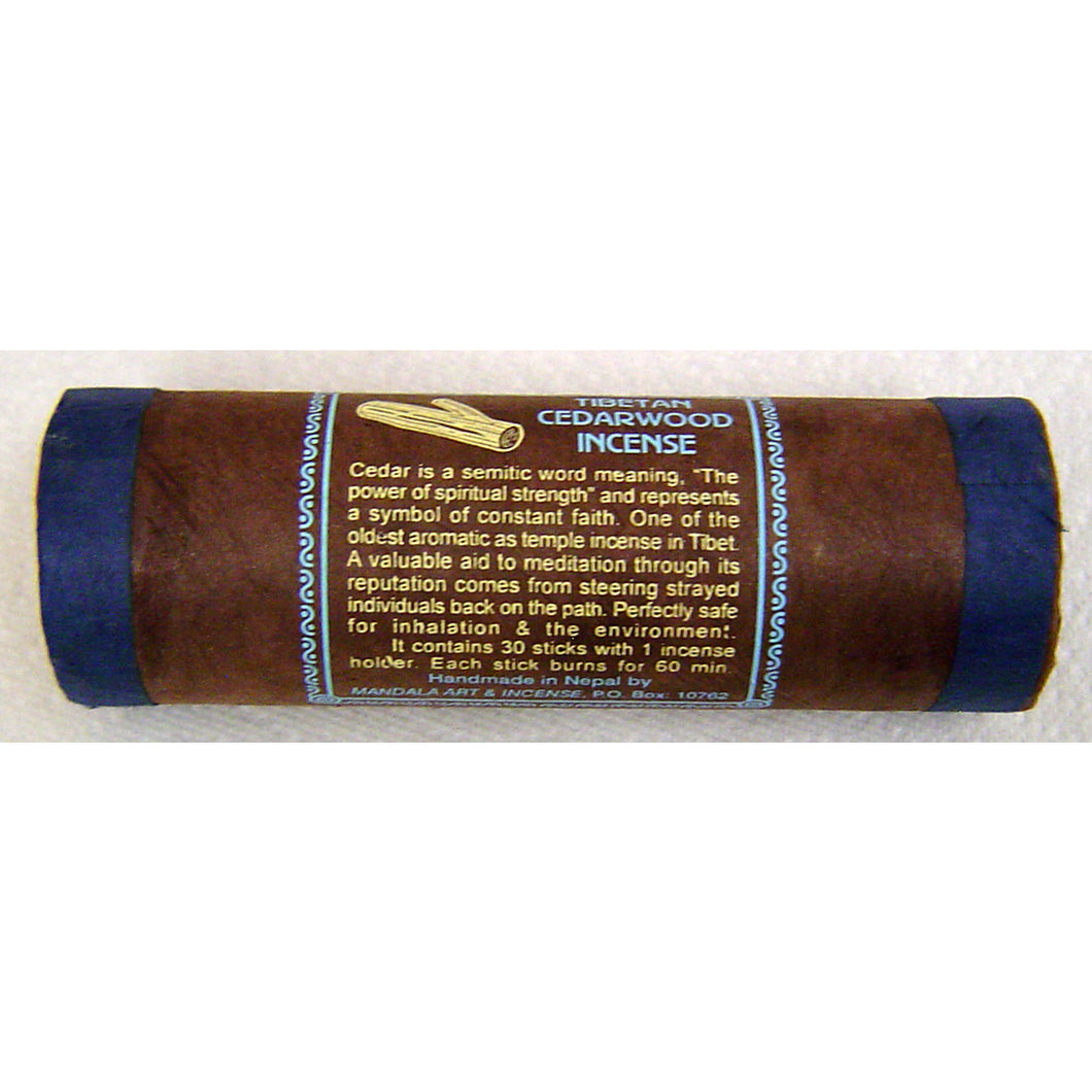 Tibetan Cedarwood Tube