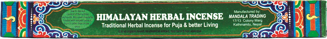 Himalayan Herbal Incense