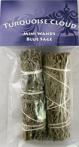 Mini Blue Sage Wands
