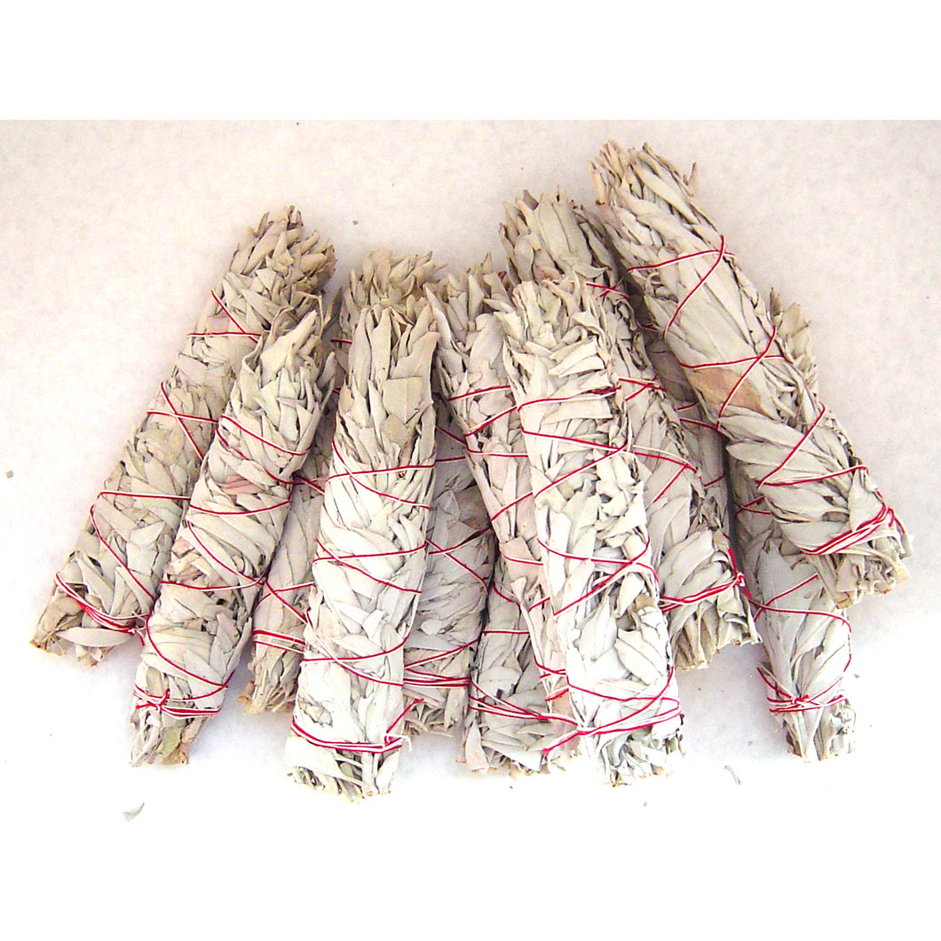 Large White Sage Wands Bulk - 1 dozen
