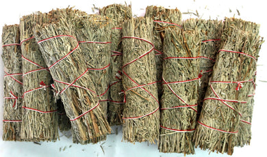 Small Blue Sage Wands - Bulk 1 dozen