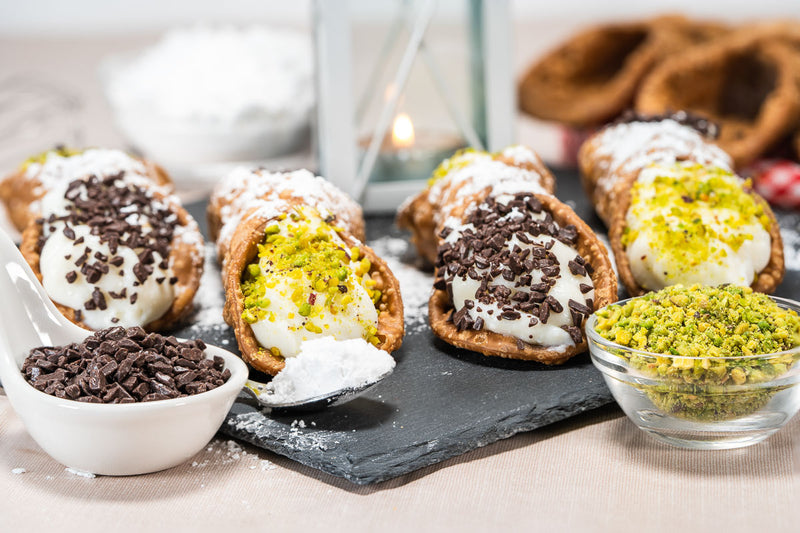 Kit Cannoli Siciliani freschi
