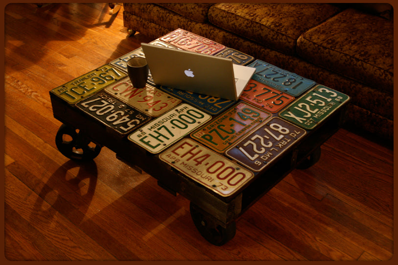 LKD License Plate Table