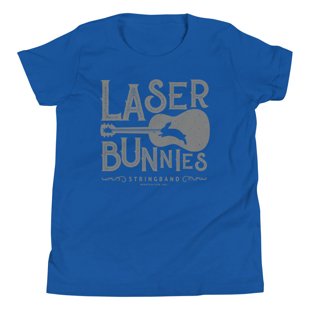 Laser Bunnies Stringband Youth T-Shirt
