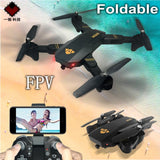 Mini Foldable Drone XS809W XS809HW With Wifi FPV HD Camera