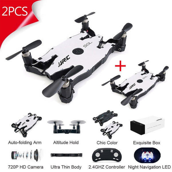 Combo Drone FPV Racing R2 Robot w/ H49 Follow Me Foldable Arm Set
